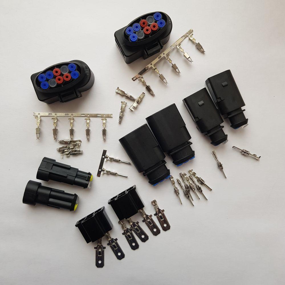 Комплект разъемов для Polo H4-H7