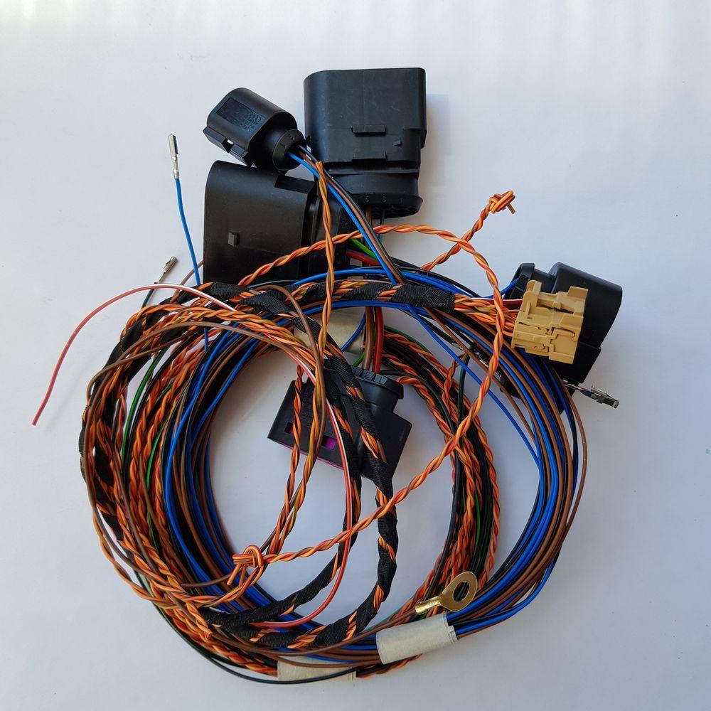 Комплект переходников Skoda Octavia A7FL led + AFS