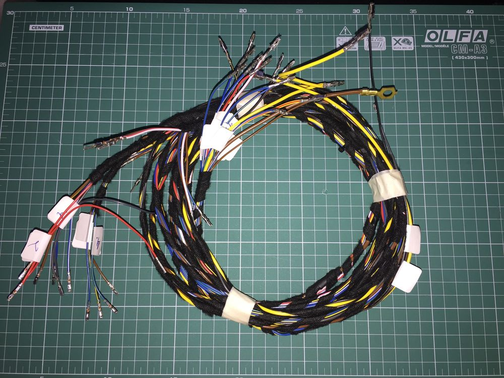 Проводка обогрева заднего дивана Skoda Octavia A7