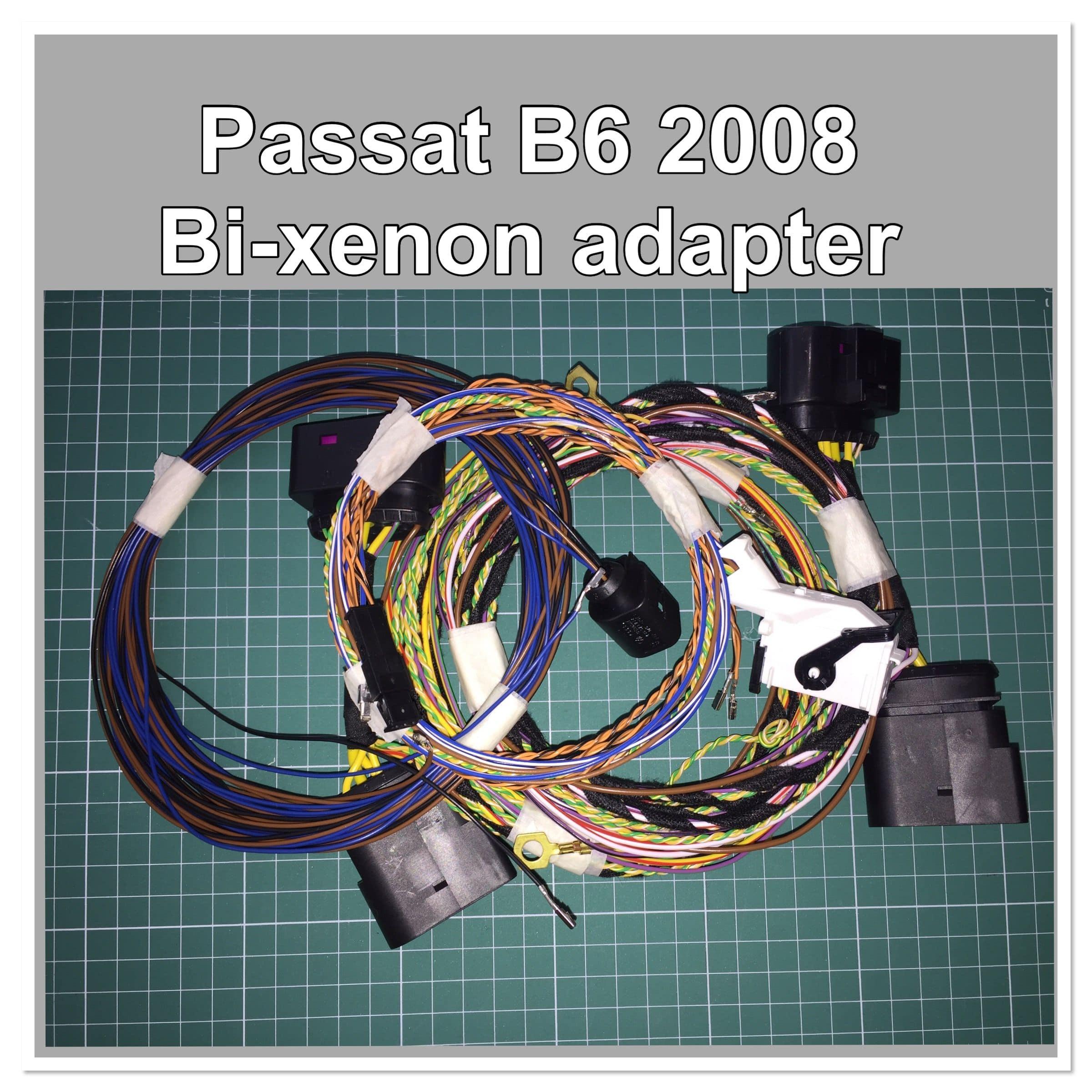 Комплект переходников Passat B6 + AFS