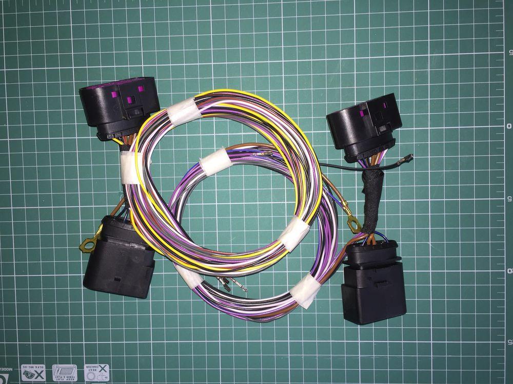 Комплект переходников Tiguan AD1 LED BASIS + AFS